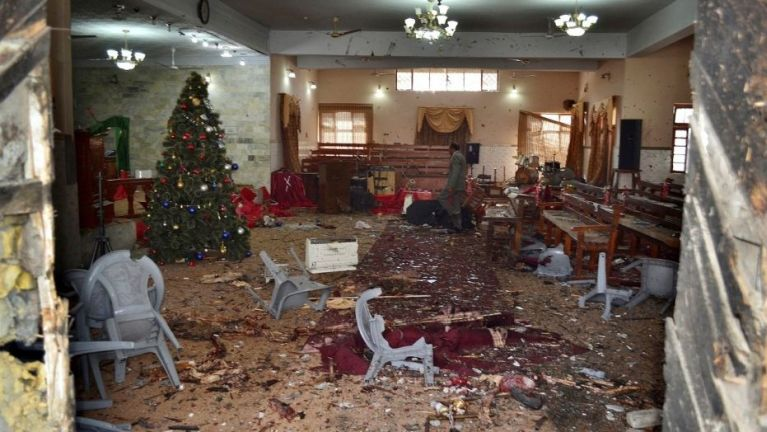 Pakistan ah Sunday kikhop laitak Suicide Bomb ki sukham in mi 9 si, 57 liam