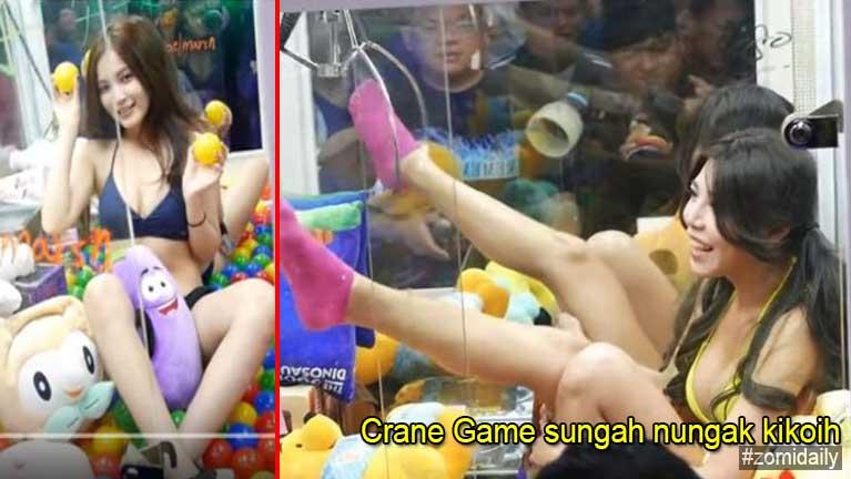 Taiwan gamsung aom Crane Game sungah numei te Bikini bektawh koihin mipi lunglutsak