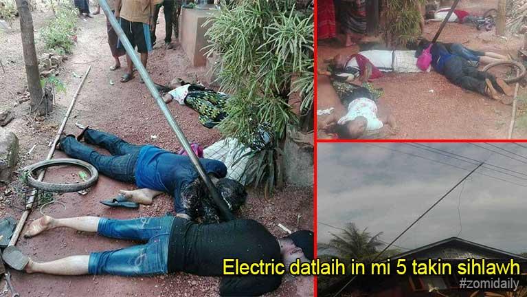 Myanmar, Kayin State ah Electric meikhau panin datlaih sakkha in mi 5 takin sihlawh