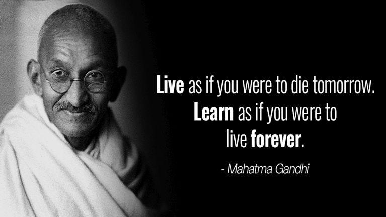 Mahatma Gandhi banghang in Christian suaklo hiam?