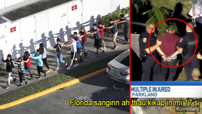 USA, Florida sanginn khatah thaukikap, mi 17 si, 15 zato ah lum