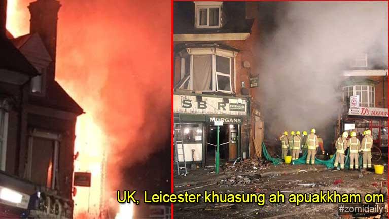 UK, Leicester khuasung ah apuakkham omin, mi 6 liam