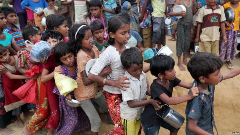 Genthei dongtuak Rohingya naupang te dinmun leh mailam lamet