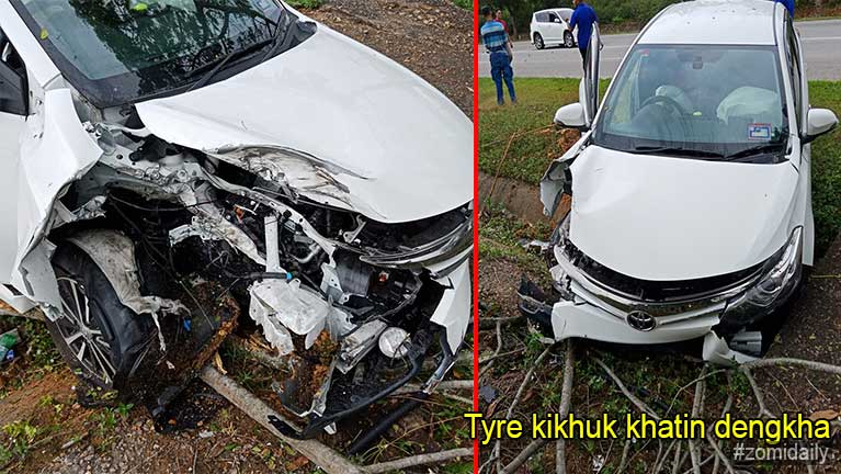 Video: Highway tungah mawtaw Tyre khat kikhuk in mawtaw 2 dengkha