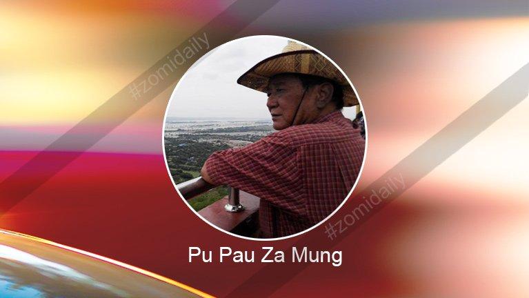 Tukhawngteng ka ommuanaa, ka ngaihsut sut thu in ~ Pau Za Mung