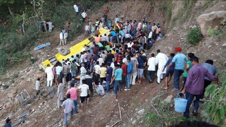 India gamsung ah School Bus khat kendang ah kiasuk in mi 30 si