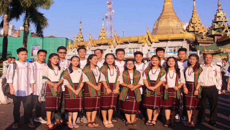 Zomi Siamsin Kipawlna – Yangon te'n Zomi te ngeina lam lahna nei