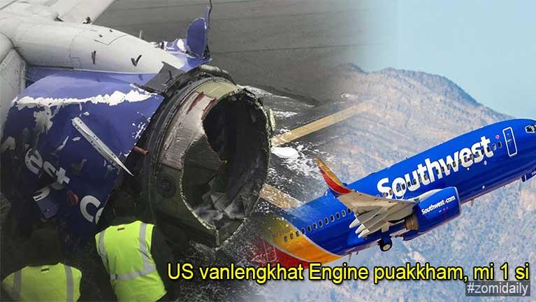 US gamsungah vanlengkhat Engine puakkham in mi 1 si, 7 liam