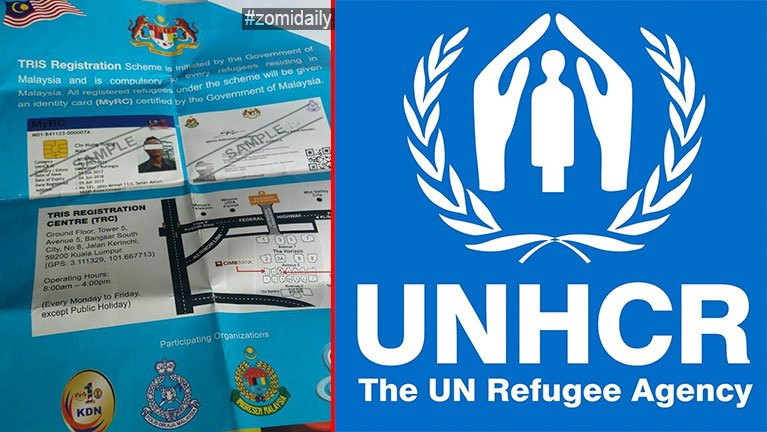 UN Card tawite'n bawlding akisawl MyRC (TRIS) tawh kisai theihsakna