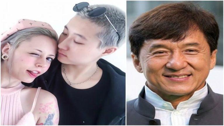 Jackie Chan tanu Lesbian (numei leh numei omkhawm)ahih manin innpan ki hawlkhia