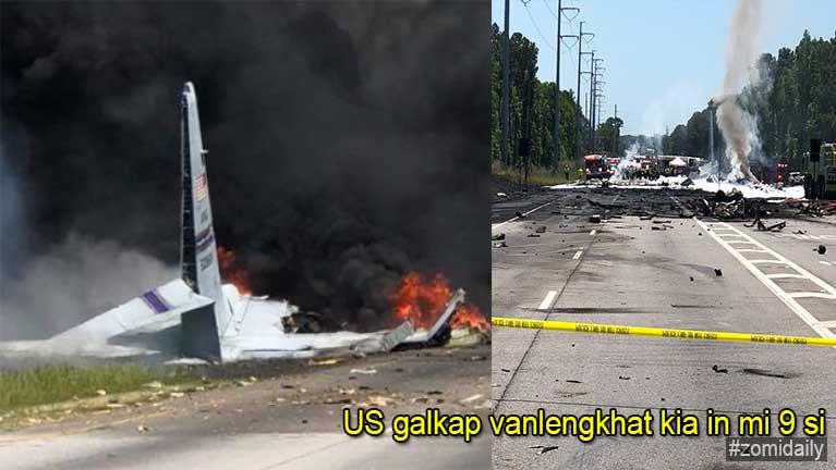 US galkap te vanpuakna Cargo vanleng khat kia in mi 9 si