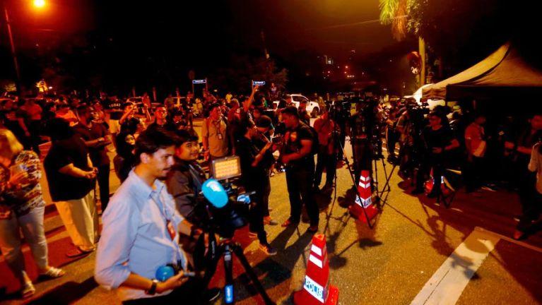 Najib ii omna tawh akizomkha mun 5 takah Police Search kibawl