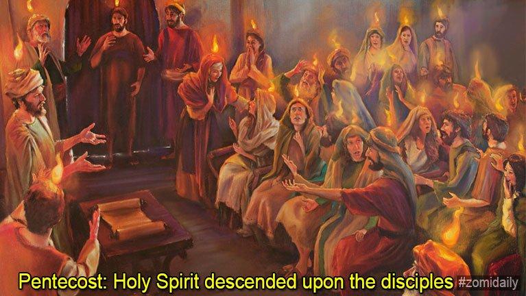 Pentecost Ni leh Pawlpi Piankhiatna ~ Lang Khan Khai
