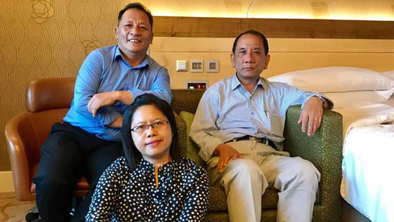 Zoom Meeting ah Pu Hau Khan Sum thugenna