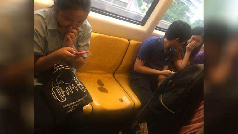Bangkok khuasung Skytrain meileng tutna tungah numei khatin ekteh