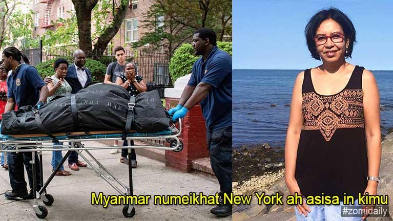 USA, New York ah Myanmar gammi numeikhat akhut akhe ki hencip in asisa in kimu