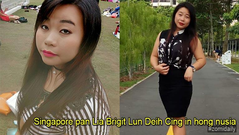 Singapore pan Lia Brigit Lun Deih Cing in hong nusia