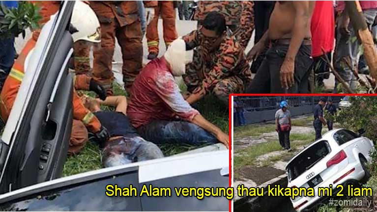Malaysia, Shah Alam vengsung thau kikapna vaitawh kisai Photo leh Video update