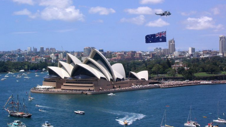 Australia Parliament House Hall ah lungdam kohna nei