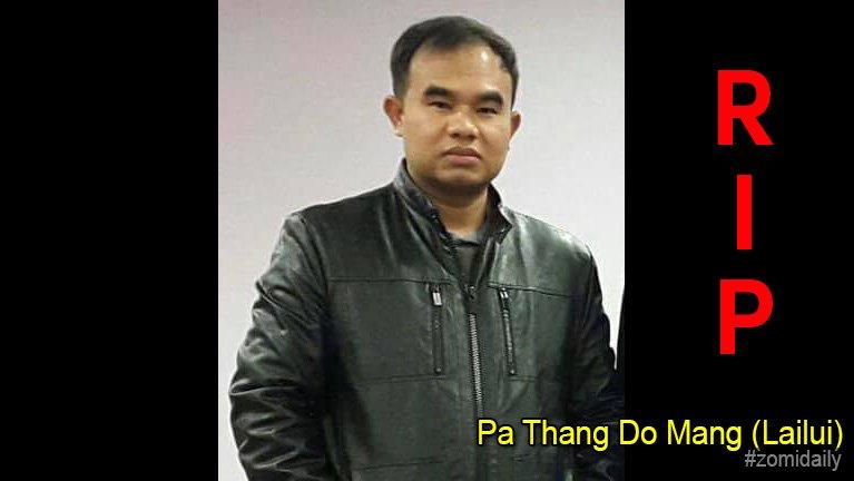 USA, Maryland pan Pa Thang Do Mang (Lailui, Kipgen, kum 38) in hongnusia
